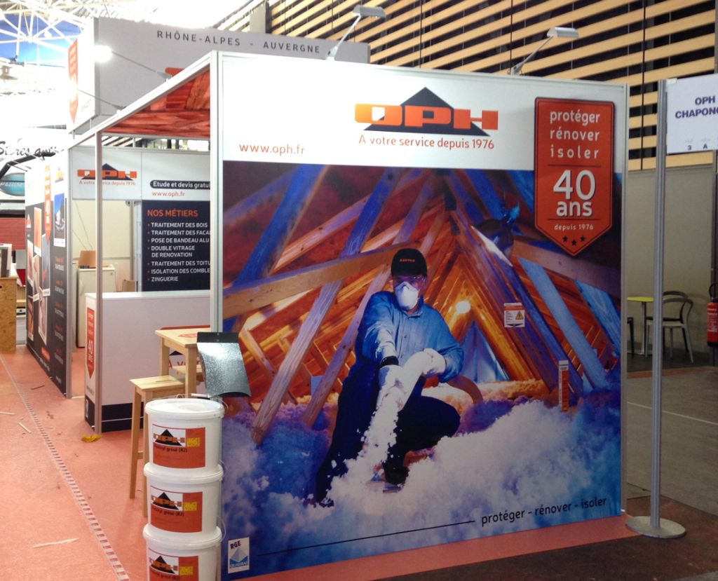 Stand pour exposition – OPH